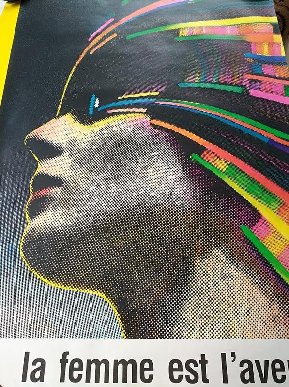Plakat 1978 La femme Roman Cieślewicz Antiquitaeten 2