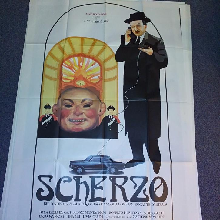 Plakat 1983 it Schweiz Wertmüller Scherzo Orginal Sammeln