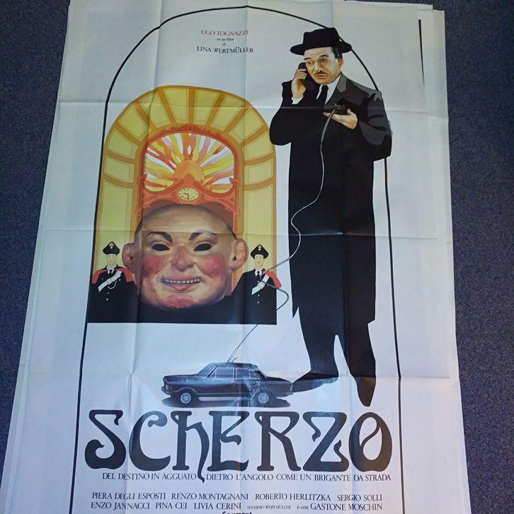 Plakat 1983 it Schweiz Wertmüller Scherzo Orginal Sammeln 2