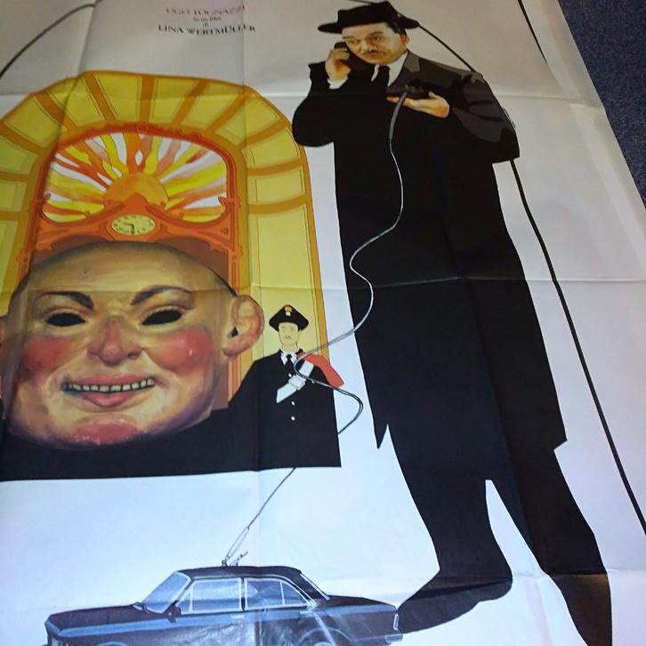 Plakat 1983 it Schweiz Wertmüller Scherzo Orginal Sammeln 3