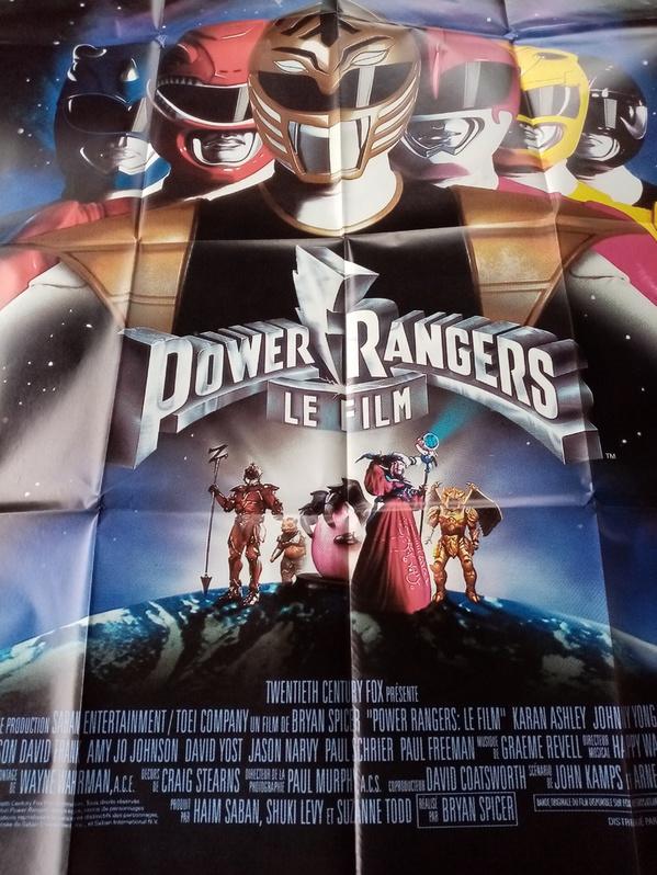 Plakat 1995 CH Großformat Power Rangers Sammeln 3