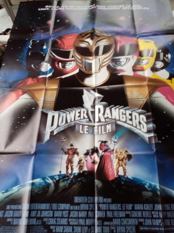 Plakat 1995 CH Großformat Power Rangers Sammeln 4