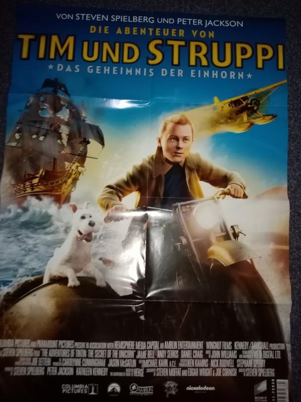 Plakat 2011 Spielberg Tim und Struppi Sammeln 4