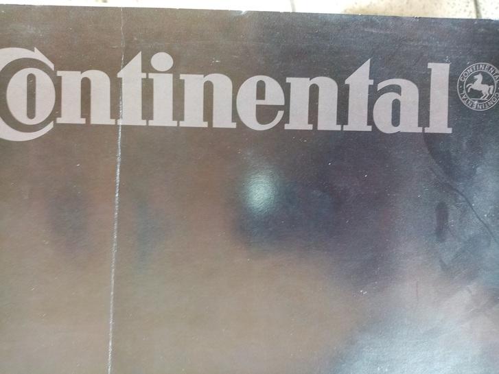 Werbe Plakat Mode der 90er Continental Sammeln 2