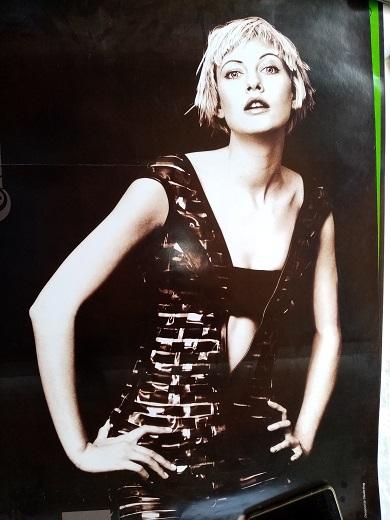 Werbe Plakat Mode der 90er Continental Sammeln 4