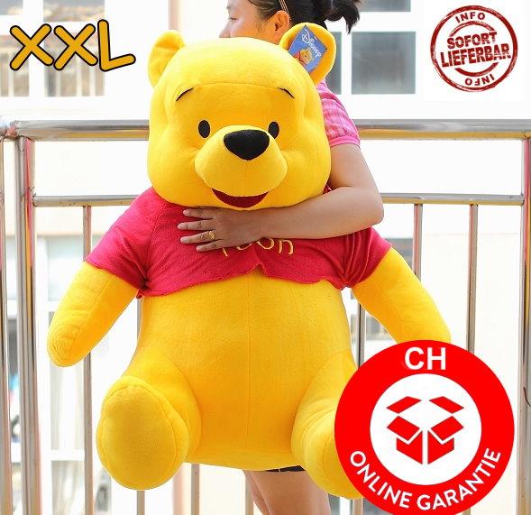 Plüschtier Winnie Pooh XXL Stofftier Pu der Bär Geschenk Kind Kinder Frau Freundin Schweiz Baby & Kind
