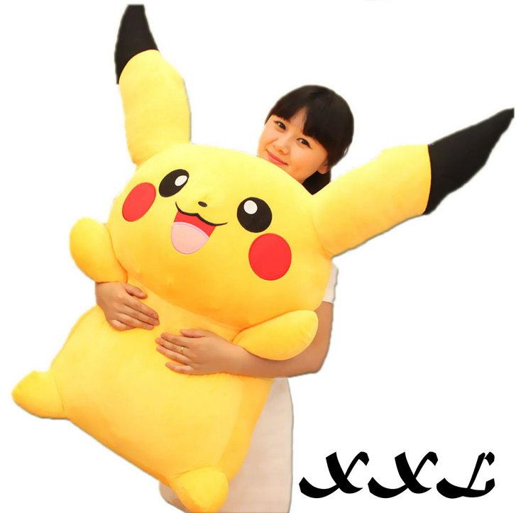 Pokemon Pikachu Pokémon 1.2m Plüsch Plüschtier Fanartikel 120cm Geschenk Kind Kinder Frau Freundin Fan Shop Fan-Merch Baby & Kind