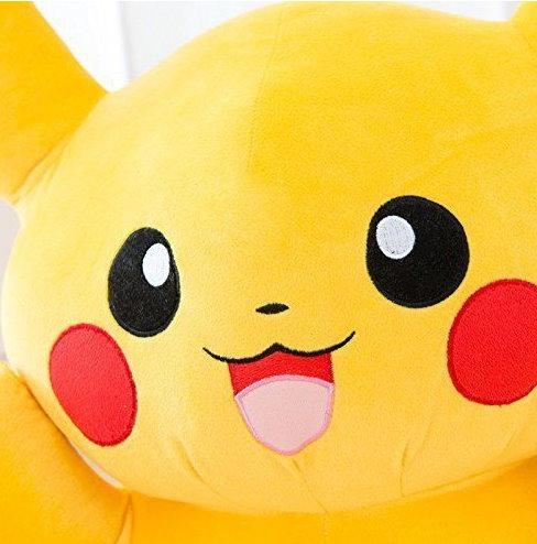 Pokemon Pikachu Pokémon 80cm Plüsch Plüschtier Fanartikel 80cm XL XXL Geschenk Kind Kinder Frau Freundin Fan Shop Fan-Merch Spielzeuge & Basteln 2