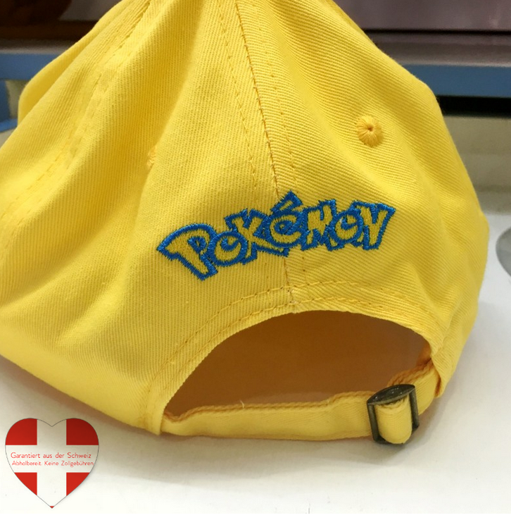 Pokemon Pokémon Pikachu Baseball Cap Basketball Mütze Kappe Erwachsene Fan Gelb Kleidung & Accessoires 2