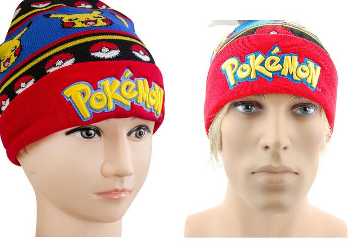 Pokemon Pokémon Pikachu Beanie Cap Mütze Kappe Winter Fan für Jung und Alt geeignet Kleidung & Accessoires 2