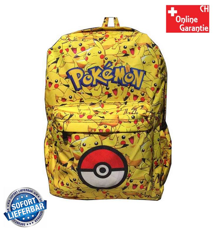 Pokémon GO Pikachu Kinder Kinderrucksack Rucksack Kindergarten Primar Schultasche Schulranzen für Kinder Kinderrucksack Kleinkinder Baby & Kind