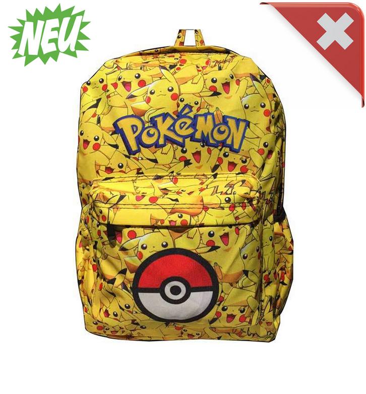 Pokémon Pikachu Kinder Kinderrucksack Rucksack Kleinkinder Kindergarten Primarschule Schulranzen Sport & Outdoor
