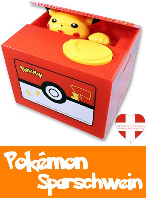 Pokémon Spardose Geld Münzen Pikachu Geld Sparschwein das Geschenk für Kinder und Fans / Neu  Baby & Kind