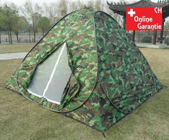 Popup Militär Camouflage Wurf Zelt Wurfzelt schneller Aufbau Openair Festvial Outdoor Jagd Sport & Outdoor