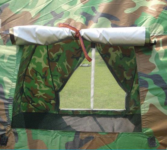 Popup Militär Camouflage Wurf Zelt Wurfzelt schneller Aufbau Openair Festvial Outdoor Jagd Sport & Outdoor 4