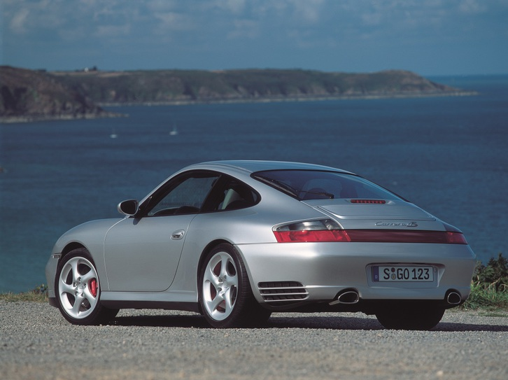 Porsche 2001  Presse CD  +  Booklet 911 Carrera 4s Sammeln 3