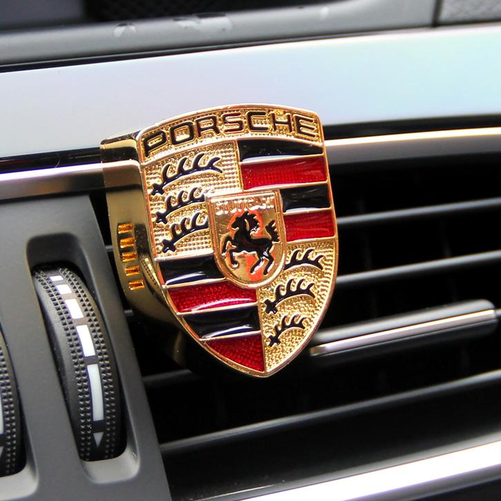 Porsche Auto Lufterfrischer Auto Zubehör Geschenk Fan Fahrzeuge