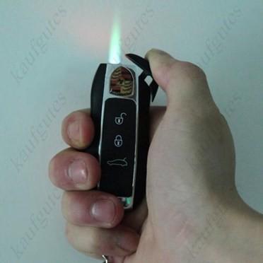 Porsche Auto Schlüssel als Feuerzeug - Sturmfeuerzeug - Auto Geschenk Fan Liebhaber Raucher Sammeln 2