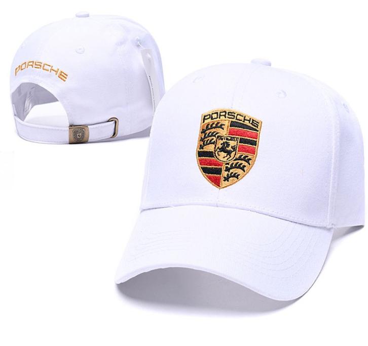 Porsche Cap Kappe Mütze Baseball Baseballcap Fan Schwarz Rot Weiss Beige Logo Kleidung & Accessoires 2