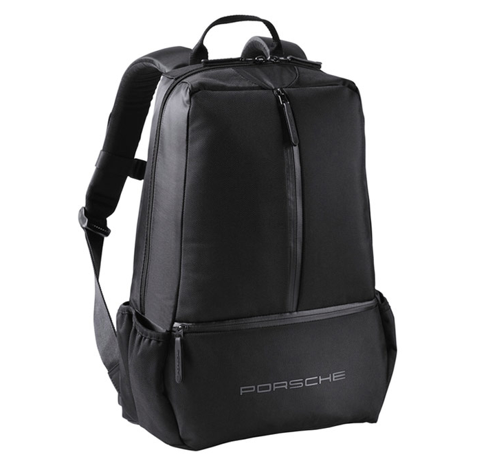 Porsche Fan Rucksack Sportrucksack Schwarz Racing Design Sporttasche WAP0350080E Kleidung & Accessoires