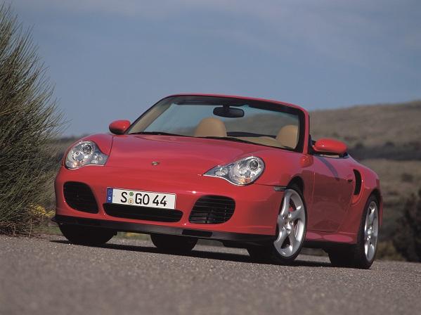 Presse Info 2004 Porsche 911 Turbo Cabriolet Sammeln 3
