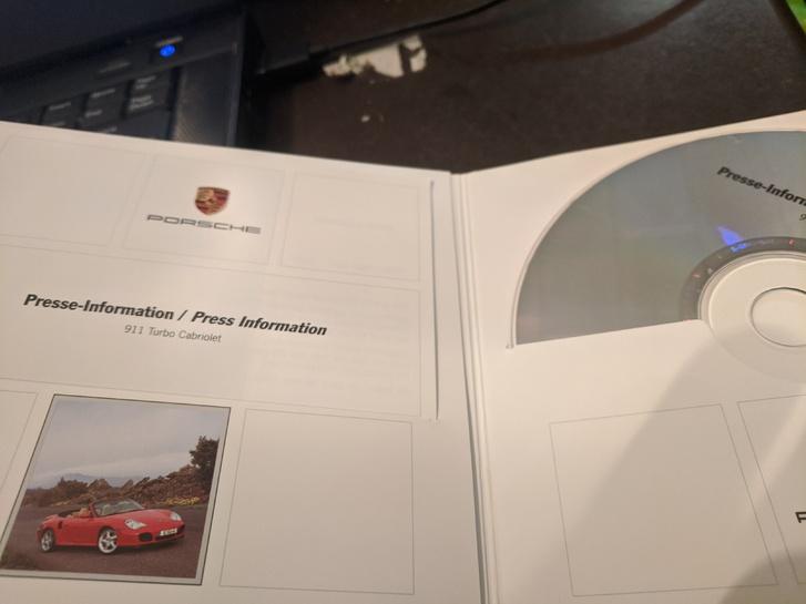 Presse Info 2004 Porsche 911 Turbo Cabriolet Sammeln 2