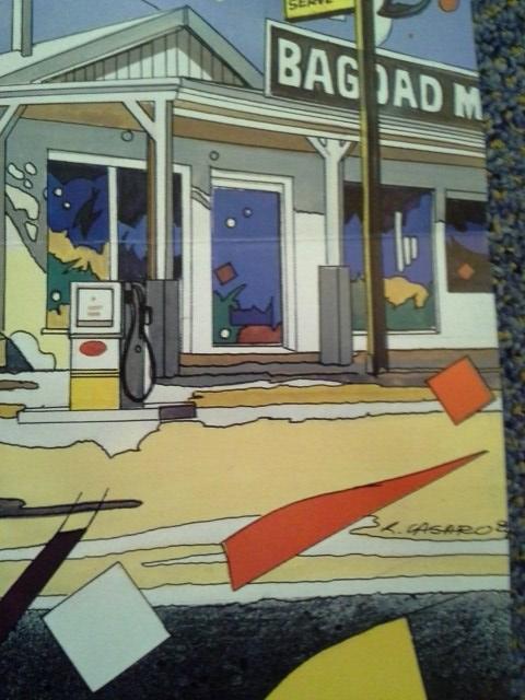 R. Casaro Grafik Plakat 1987 in A1 Out of Rosenheim Christine Kaufmann Sammeln