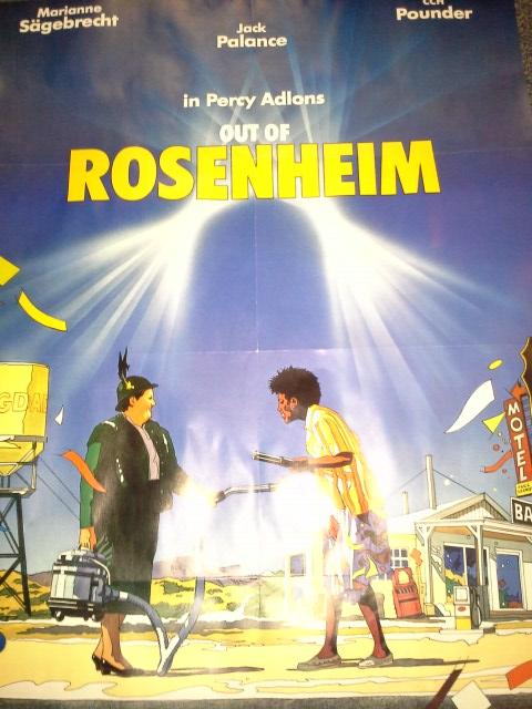 R. Casaro Grafik Plakat 1987 in A1 Out of Rosenheim Christine Kaufmann Sammeln 3