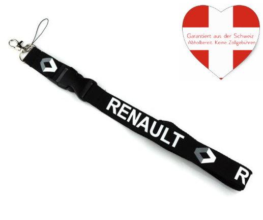 Renault Auto Schlüsselband Schlüsselanhänger Fan Kleidung & Accessoires