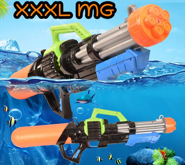 Riesen Wassergewehr Wasserpistole Wasser Pistole Gewehr XL XXL XXXL MG Wassermg Pumpgun Sommer Spielzeug 78cm 2.1L Tank Badi Junge Kind Kinder 78cm Baby & Kind
