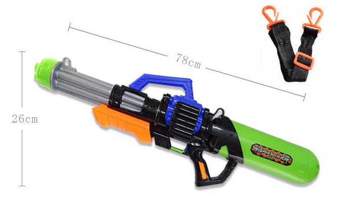 Riesen Wassergewehr Wasserpistole Wasser Pistole Gewehr XL XXL XXXL MG Wassermg Pumpgun Sommer Spielzeug 78cm 2.1L Tank Badi Junge Kind Kinder 78cm Baby & Kind 2