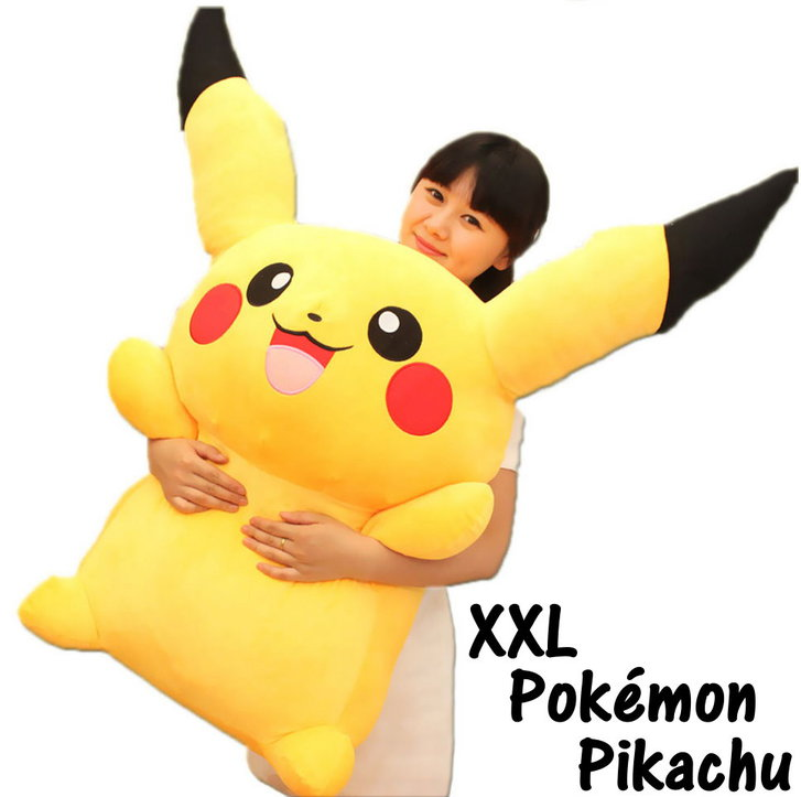 Riesengrosses Pokémon Pikachu XXL Plüsch Kuscheltier Plüschtier 120cm XXL Geschenk für Kinder Freund Sammler Spielzeuge & Basteln