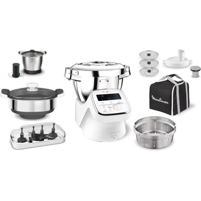 Robot cuiseur Moulinex I Companion XL+ YY3963FG • Robot de cuisine • Cuisine et cuisson Garten & Handwerk