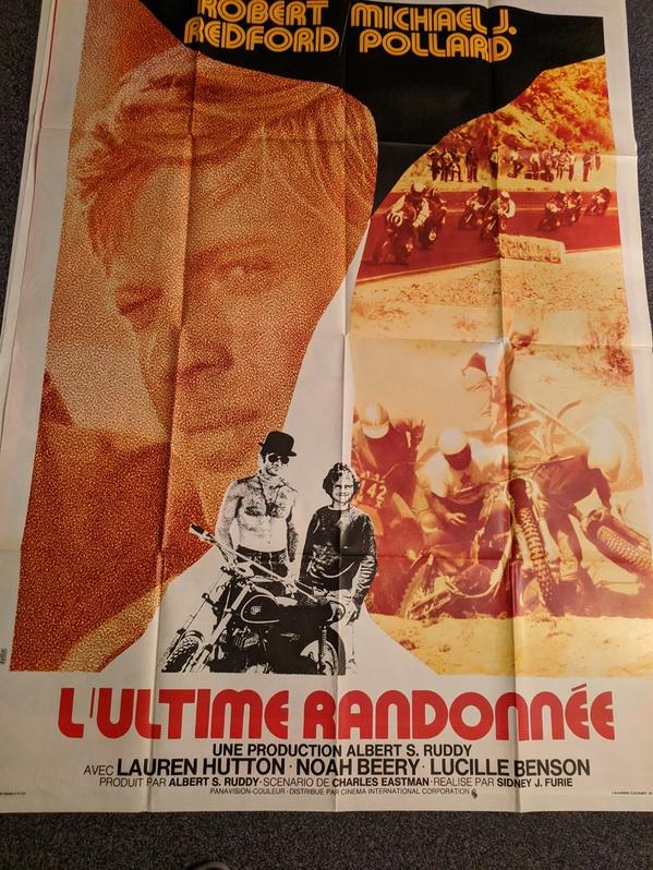 STROMER DER LANDSTRASSE USA 1970 Redford Biker Freaks Plakat