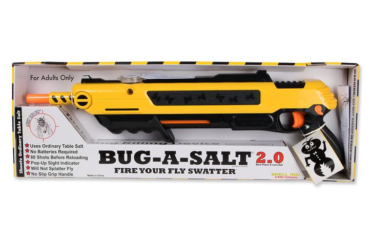 Salz Schrotflinte Bug-a-Salt 2.0 Insekten Fliegen Salz Gewehr Sommer Gadget Salzgewehr Fliegengewehr Garten & Handwerk 4