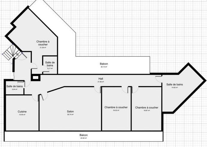 Schöne und große helle Wohnung im Zentrum von Basel 142 m2 Immobilien 2