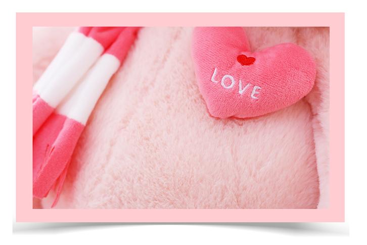 Schwein Plüsch Plüschtier XXL Schweinchen Plüschschwein Säuli Geschenk Frau Kind 210cm Love Liebe verliebtes Paar Spielzeuge & Basteln 2