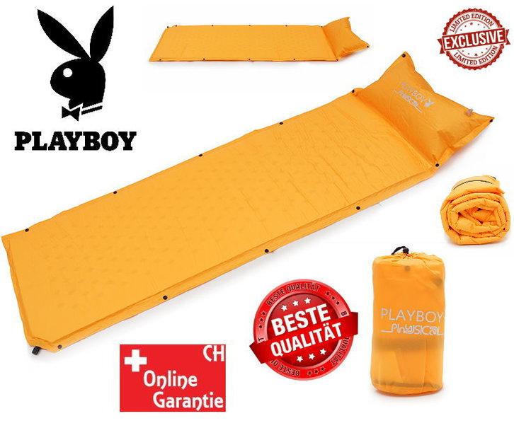 Selbstaufblasbare Playboy Luftmatratze Luft Matratze Schlafsack Schlafmatte Camping VIP Campen Outdoor Luxus Sonstige