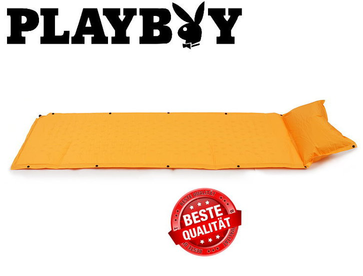 Selbstaufblasbare Playboy Luftmatratze Luft Matratze Schlafsack Schlafmatte Camping VIP Campen Outdoor Luxus Sonstige 2