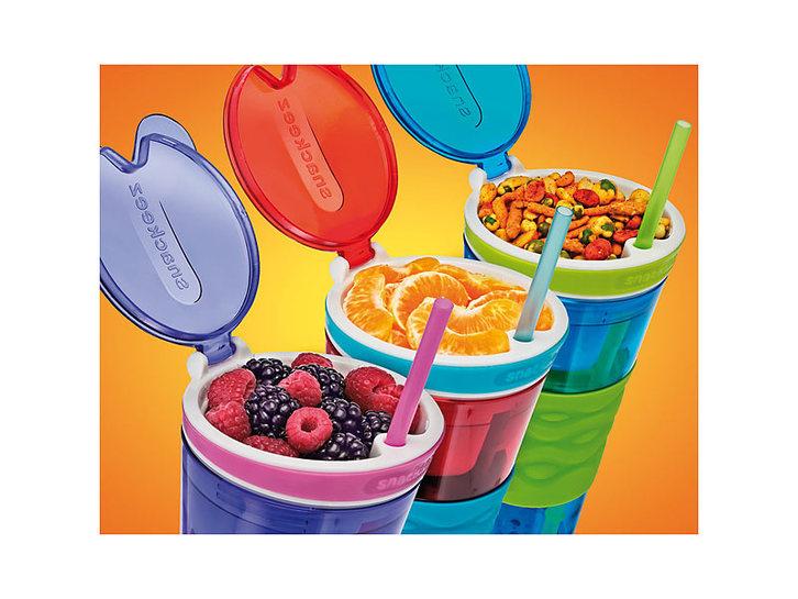 Snackeez Snack & Drink in einem Becher TV Werbung Einfach befüllt & fest verschlossen Sport & Outdoor