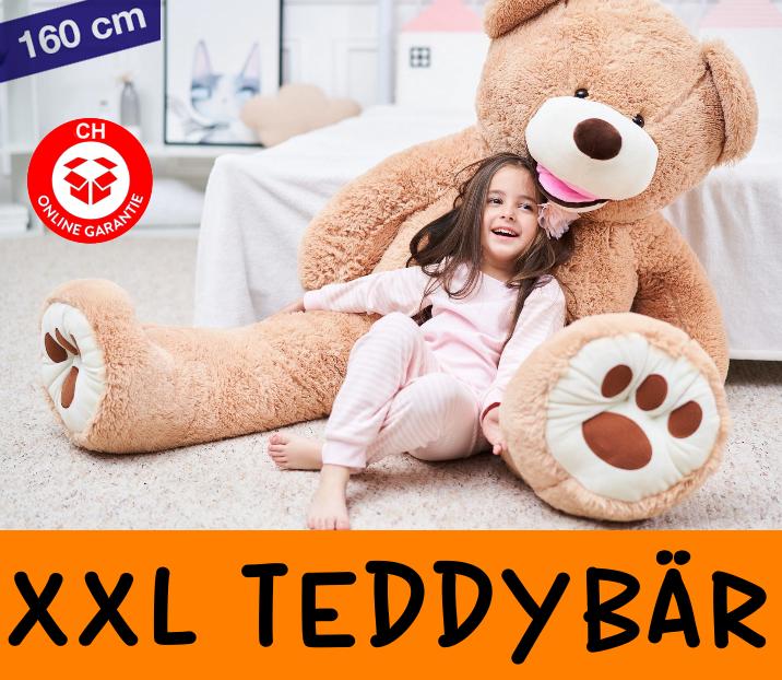 Teddy Bär Teddybär Plüschbär XL Plüschtier XXL Geschenk Kind Frau Freundin Schweiz Ted Tedi Plüschbär Baby & Kind