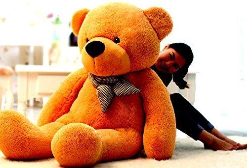 Teddybär XXL Plüschtier Kuscheltier Stofftier Bär Teddy Plüschbär Kuschelbär Geschenk Bär Kind Freundin 2Meter 200cm Baby & Kind