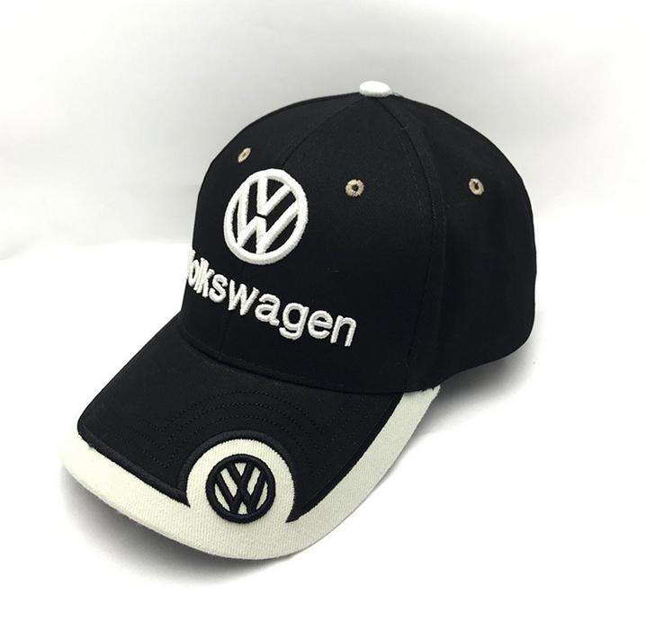 Volkswagen Cap VW Mütze Kappe Auto Fan Artikel Accessoire Schwarz Beige Kleidung & Accessoires 2