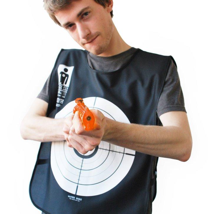 Wasserkriege Wasserpistolen Spiel Spielzeug Lustig Blut Weste Wasserpistole Wasser Pistole Wassergewehr Sommer Spielzeuge & Basteln 2