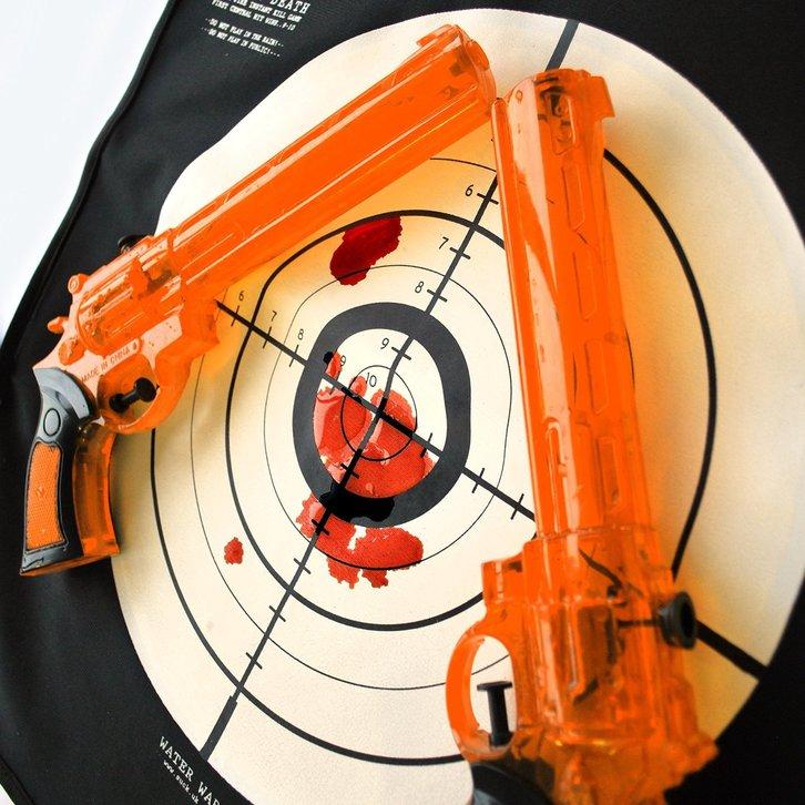 Wasserkriege Wasserpistolen Spiel Spielzeug Lustig Blut Weste Wasserpistole Neu Sommer Garten Badi Baby & Kind