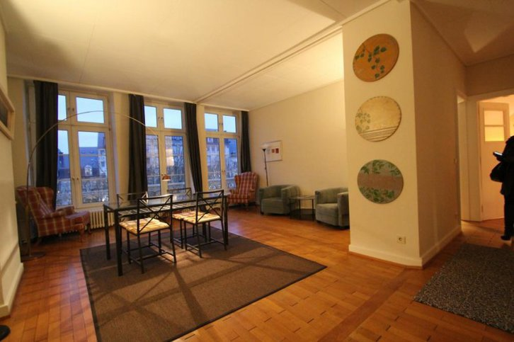Wohnung perfekt partitioniert Immobilien