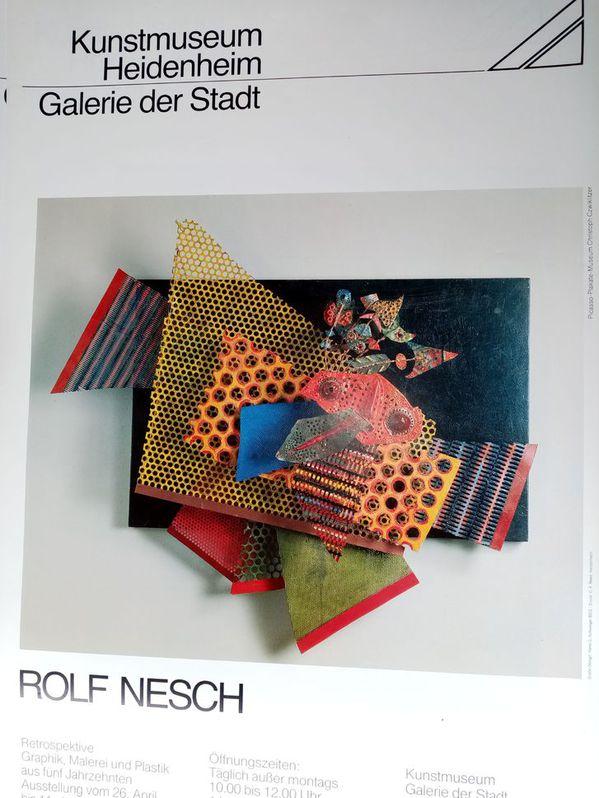 Zeitgenössische Kunst Plakat Rolf Nesch Sammeln 2