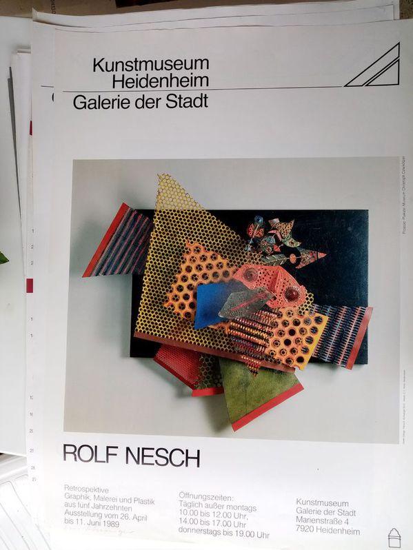 Zeitgenössische Kunst Plakat Rolf Nesch Sammeln 3