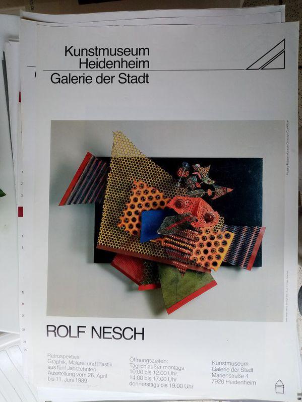 Zeitgenössische Kunst Plakat Rolf Nesch Sammeln 4