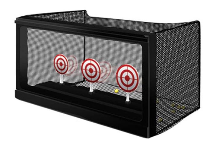 Zielscheibe Automatic Airsoft Target Softair BB Zubehör BB's Automatisches Zurücksetzen Kugelfang Sport & Outdoor